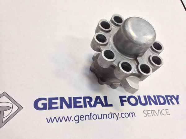 investment casting component for the biotech industry