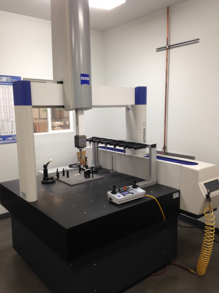 General Foundry Service's automated CMM: Zeiss contura G2 CMM